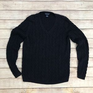 Ann Taylor Factory Store Sweater Navy